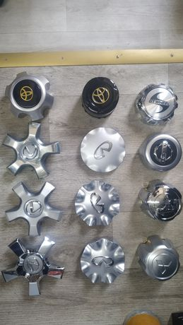 Колпачки Колпак Крышки Заглушки на диски Титанки Toyota Lexus Audi