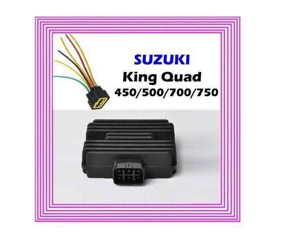 Releu Incarcare + Mufa Atv Moto Suzuki Kingquad Burgman Vinson Gsx 140