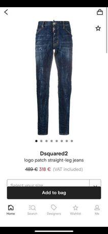 Нови мъжки дънки Dsquared2 48 размер