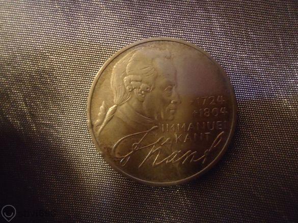 монета Bundes Republik Deutschland 1974