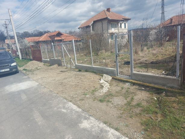 Gard și porți panou bordurat