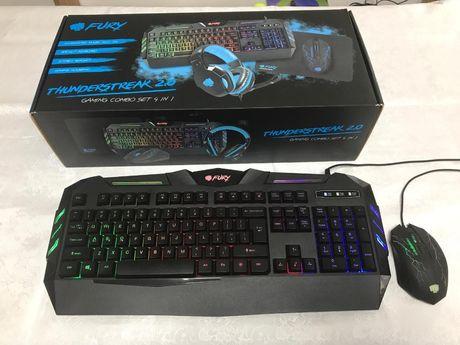 Tastatura + mouse gaming Fury Thunderstreak 2.0