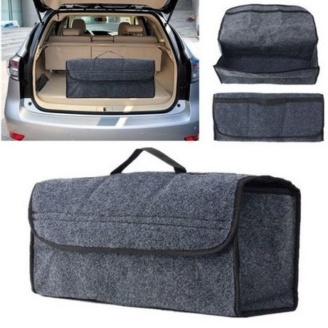 Удобен органайзер за багажник на кола - 50 х 24 х 17 см