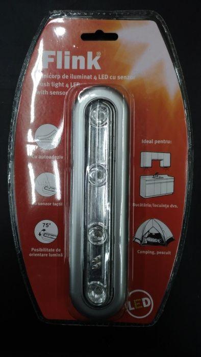 Minicorp de iluminat cu 4 leduri si senzor tactil Pitesti - imagine 1