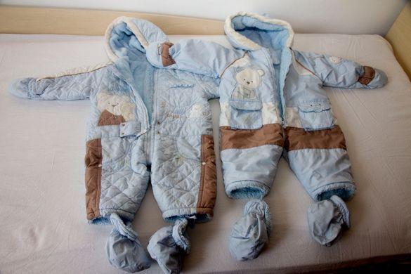 Продавам зимни космонавтчета - 2бр. за близнаци