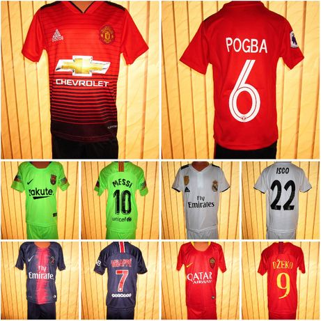 2019 - Nike/Adidas Ман.Ю,Рома Джеко,Барса зелен,ПСЖ Мбапе и Реал М.