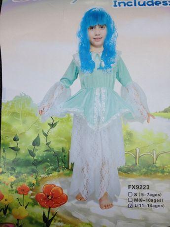 VAND costum CRAIASA ZAPEZII zana halloween copii regina printesa zeita