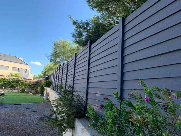 Matrițe noi gard de beton, decoratiuni,pavaje, etc!