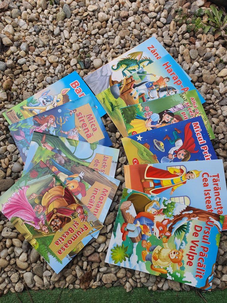Set 11 carti povesti ilustrate copii 33 ron