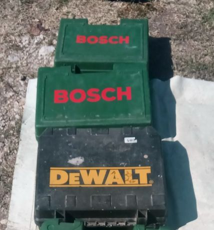 Оригинални куфари за Бош / Bosch и ДеВалт / DeWalt