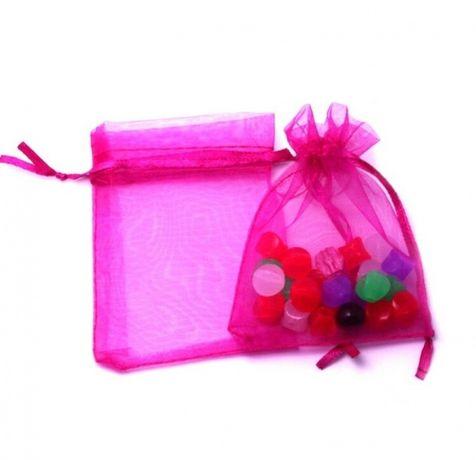 Подаръчна торбичка органза различни цветове