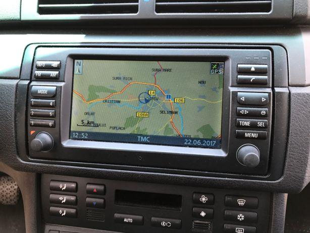 CD harti navigatie BMW Seria 3 E46 5 E39 X5 E53 Europa Romania 2015