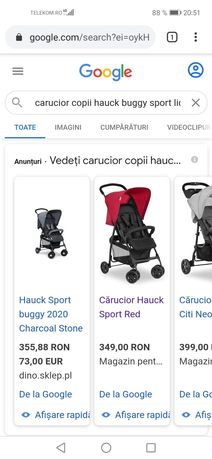 Cărucior Hauck sport