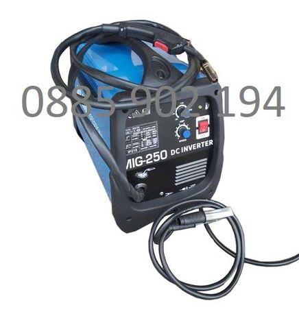250А МАХ Телоподаващо Инверторно Professional MOSFET MIG/CO2