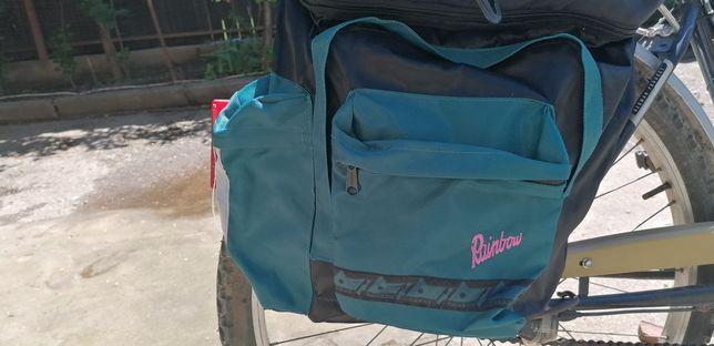 Rainbow geanta de bagaje pentru biciclete