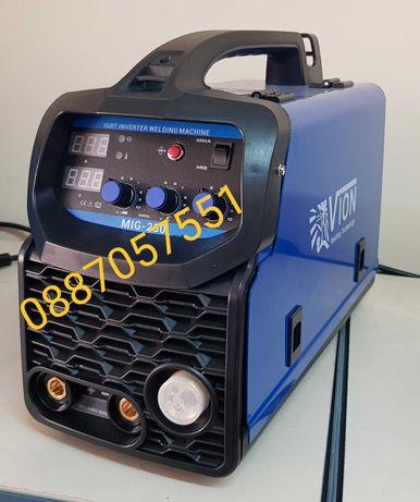 Телоподаващ 230А с електрожен - инверторен+ ред.  винтил