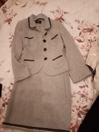 Costum Nissa gri de damă