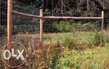 Plasa gard zincata legata de 2,0 m inaltime, grosime fir 2 mm