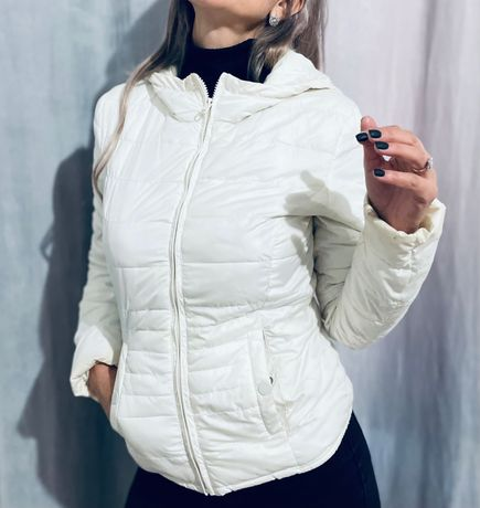 Geaca dama H&M alba