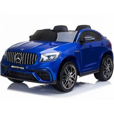 Двуместен акумулаторен джип Mercedes 4X4,2X12V,MP4 GLC63