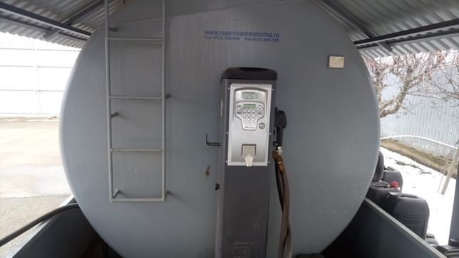 Rezervor bazin stocare motorina 20000 litri Pompa electronica cu soft