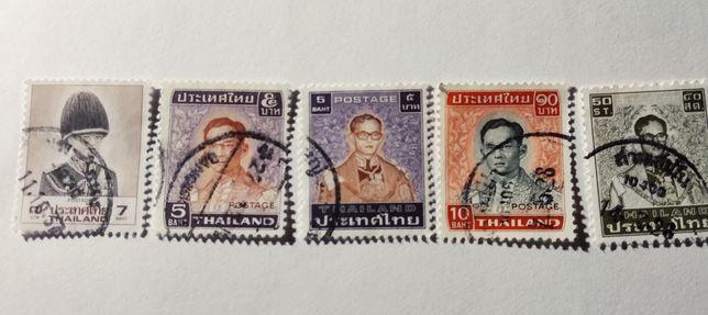 Lot timbre vechi Thailanda