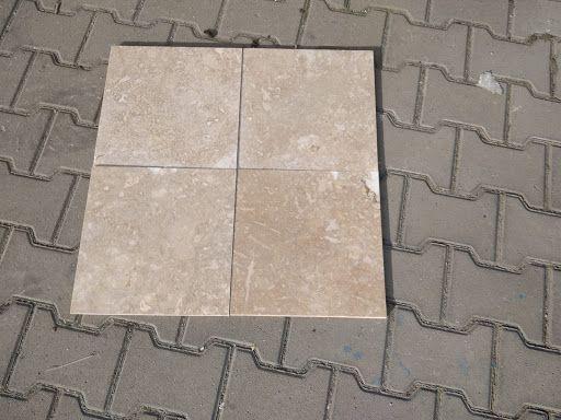 Travertin light mat-30,5x30,5x1,2