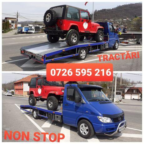 Tractari auto NON STOP Platforma Petroșani Hațeg Baru Banita Defileu j