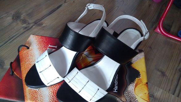 Дамски сандали Мартини - ест.кожа