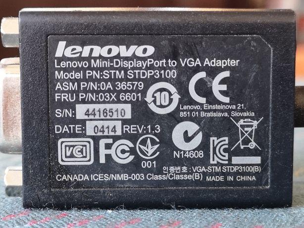 Mini Display Port to VGA cablu adaptor original LENOVO