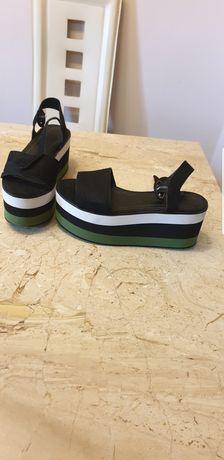 Sandale cu platforma Pull&Bear