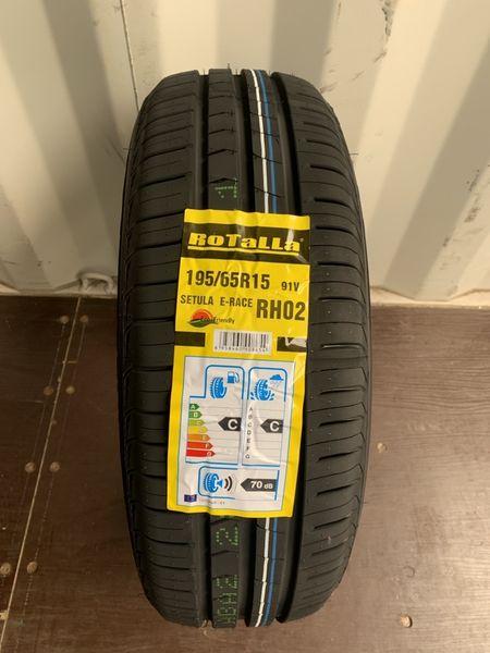 Нови летни гуми ROTALLA SETULA E-RACE RH02 195/65R15 91V DOT21 гр. Разград - image 1