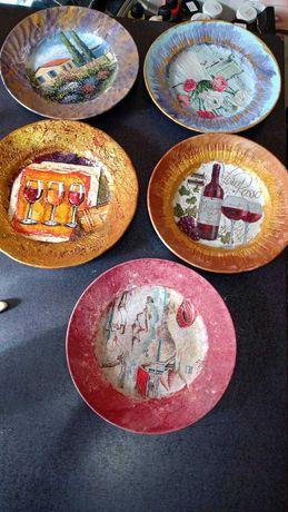 Ръчно изработени чинии за декорация