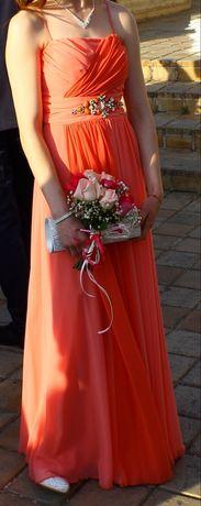 Официална рокля, носена 2 часа.