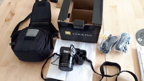 10 Mpx цифров фотоапарат Nikon Coolpix L100. Цената е без коментар