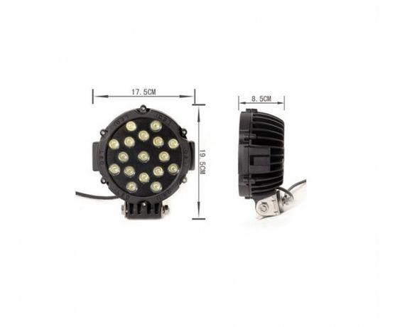 Лед бар мощен диоден фар лампа прожектор халоген джип ATV 4 X 4 офроуд