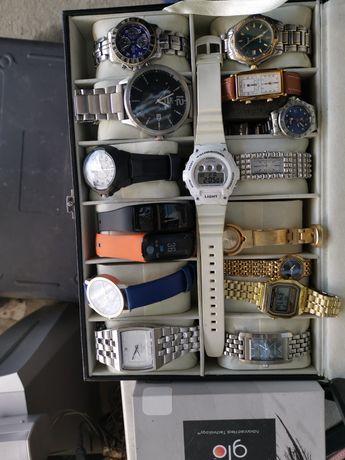 Lot ceasuri automatice mecanice Quartz 16 bucăți funcționale