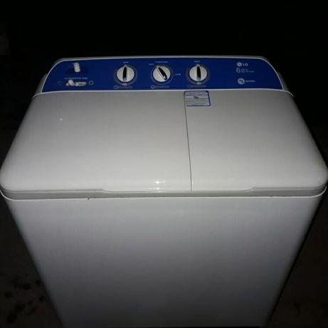 Полуавтомат LG на 6 кг. с доставкой полу автомат стиралка