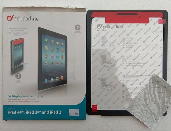 pelicula film protector tableta folie protectie ipad 4, ipad 3, ipad 2