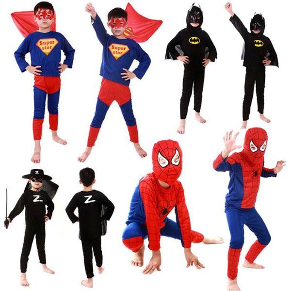 ПРОМОЦИЯ! Нов Детски Костюм на Спайдърмен, Батман, Супермен И Зоро гр. Варна - image 1