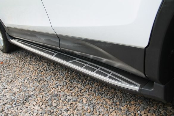 СТЕПЕНКИ Stepenki Side Step Toyota Rav4 Тойота Рав4 (2013-2018)