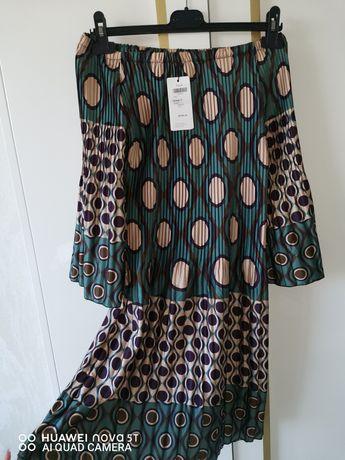 НОВА плисирана рокля - свободен размер S - L
