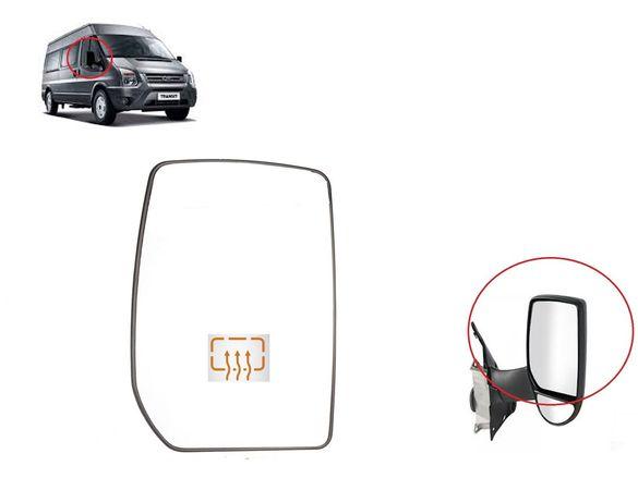 Стъкло за огледало с подгряване за Ford Transit 2000-2013