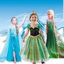 Рокли-костюм на Елза и Ана от Замръзналото кралство.