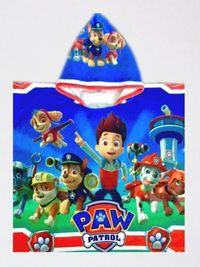 PAW PATROL(Пес Патрул) - пончо, 2 размера, НОВО