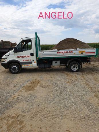 Transport marfa : nisip sort mranita