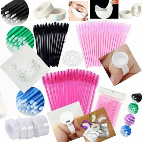 Пачове за миглопластика, четки, подложки за ламиниране и др.