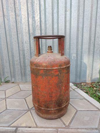 Продам газовый балон бытовой емкостью  27 литров в количестве 2 штук