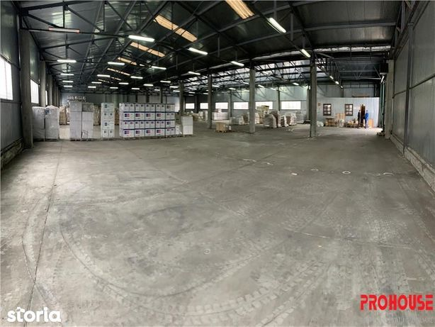 Calea Moinesti (zona Dedeman) - hala depozitare 1.850mp