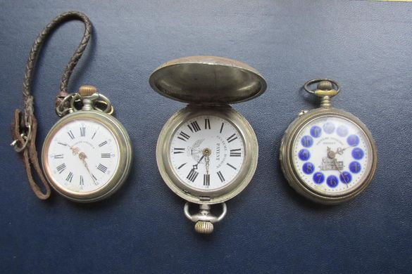 Лот стари джобни часовници - roskopf